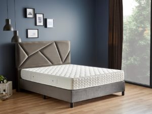 מיטה זוגית ראש גיאומטרי