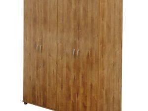 ארון ארבע דלתות ללא מגירות
