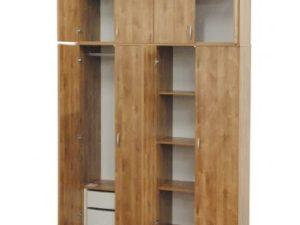 ארון מעוצב ארבע דלתות שתי מגירות