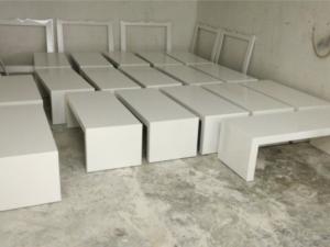 שולחן סלון צורת ח