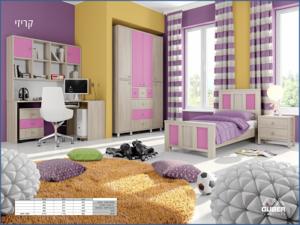 חדר ילדים מעוצב דגם קריזי