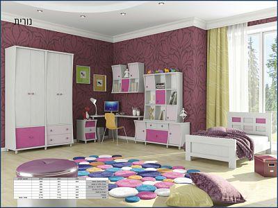 חדר ילדים מעוצב דגם נורית