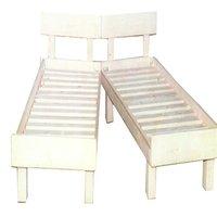 מיטה יהודית מעץ מלא