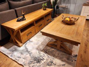 סט מזנון ושולחן פרובאנס