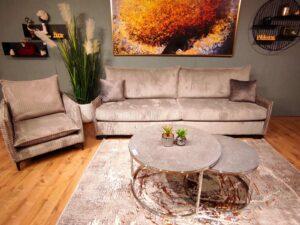 ספה וכורסא דגם שלו
